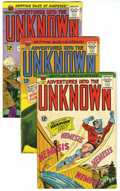 Silver Age (1956-1969):Horror, Adventures Into the Unknown Group (ACG, 1965-66) Condition: AverageVG+. Includes 154 (Nemesis series begins), 155, 156, 157... (Total:12 Comic Books)