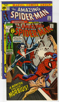 Bronze Age (1970-1979):Superhero, The Amazing Spider-Man #101 and 102 Group (Marvel, 1971). Consists of #101 (first appearance of Morbius, Wizard cameo, last ... (Total: 2 Comic Books)