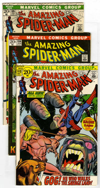 The Amazing Spider-Man #103-110 Group (Marvel, 1971-72). Includes #103 (VF), #104 (Kraven the Hunter cover and story - V...