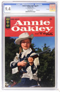 Silver Age (1956-1969):Western, Annie Oakley and Tagg #1 File Copy (Gold Key, 1965) CGC NM 9.4 Off-white pages. Photo cover. Overstreet 2006 NM- 9.2 value =...