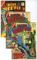 Silver Age (1956-1969):Superhero, Blue Beetle Group (Charlton, 1965-67) Condition: Average VG/FN. Includes V2#4, V3#50, 51, 52, 53, and 54; and #1 (first appe... (Total: 8 Comic Books)