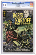 Silver Age (1956-1969):Horror, Boris Karloff Tales of Mystery #4 File Copy (Gold Key, 1963) CGC NM9.4 Off-white pages. Painted cover. Back cover pin-up. O...