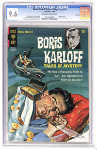 Boris Karloff Tales of Mystery #16 File Copy (Gold Key, 1966) CGC NM+ 9.6 Off-white to white pages. Painted cover. Back...