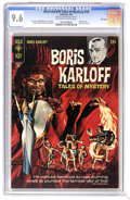 Silver Age (1956-1969):Horror, Boris Karloff Tales of Mystery #18 File Copy (Gold Key, 1967) CGCNM+ 9.6 Off-white to white pages. Painted cover. Back cove...