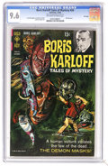 Silver Age (1956-1969):Horror, Boris Karloff Tales of Mystery #24 File Copy (Gold Key, 1968) CGCNM+ 9.6 Off-white to white pages. Painted cover. Art by Lu...