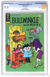 Bullwinkle #15 File Copy (Gold Key, 1977) CGC NM+ 9.6 White pages. Overstreet 2006 NM- 9.2 value = $18. CGC census 6/06:...