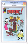 Bronze Age (1970-1979):Cartoon Character, Bullwinkle #16 File Copy (Gold Key, 1977) CGC NM 9.4 Off-white towhite pages. Overstreet 2006 NM- 9.2 value = $18. CGC cens...