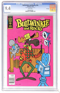 Bullwinkle #24 File Copy (Gold Key, 1979) CGC NM 9.4 White pages. Highest CGC grade for this issue. Overstreet 2006 NM-...