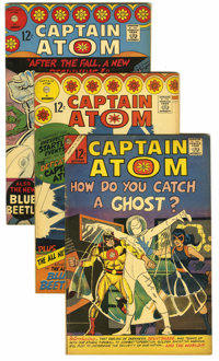 Captain Atom #82-89 Group (Charlton, 1966-67) Condition: Average FN/VF. Includes #82 (first appearance of Nightshade), 8...
