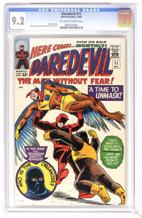 Daredevil #11 (Marvel, 1965) CGC NM- 9.2 Off-white to white pages. Daredevil battles the Ani-Men. Bob Powell and Wally W...