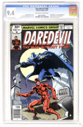 Bronze Age (1970-1979):Superhero, Daredevil #158 (Marvel, 1979) CGC NM 9.4 Off-white to white pages.Frank Miller's first issue as artist of this title. Origi...