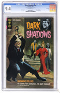 Bronze Age (1970-1979):Horror, Dark Shadows #10 File Copy (Gold Key, 1971) CGC NM 9.4 Off-white pages. Painted cover. Joe Certa art. Currently tied for the...