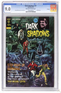 Bronze Age (1970-1979):Horror, Dark Shadows #21 File Copy (Gold Key, 1973) CGC VF/NM 9.0 Off-whiteto white pages. Painted cover. Joe Certa art. Overstreet...