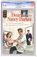 Silver Age (1956-1969):Romance, Dear Nancy Parker #1 File Copy (Gold Key, 1963) CGC NM 9.4Off-white to white pages. Painted cover. Back cover pin-up. Tied...