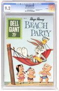 Silver Age (1956-1969):Cartoon Character, Dell Giants #46 Bugs Bunny's Beach Party - File Copy (Dell, 1961) CGC NM- 9.2 Off-white to white pages. Painted cover. Overs...