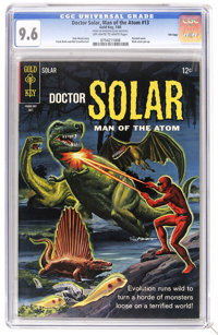 Doctor Solar #13 File Copy (Gold Key, 1965) CGC NM+ 9.6 Off-white to white pages. Painted cover. Back cover pin-up. Curr...
