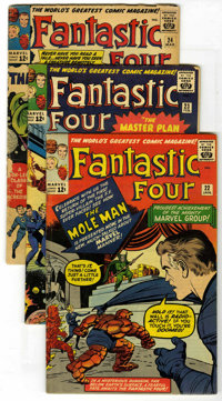 Fantastic Four #22-32 Group (Marvel, 1964) Condition: Average GD/VG. This great run of early F.F. books includes #22, 23...