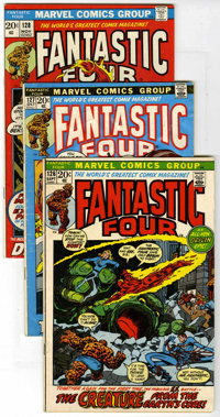 Fantastic Four #126-163 Group (Marvel, 1972-75) Condition: Average FN. This group contains issues #126, 127, 128, 129, 1...