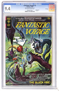 Fantastic Voyage #2 File Copy (Gold Key, 1969) CGC NM 9.4. Painted cover. Last issue. Overstreet 2006 NM- 9.2 value = $5...