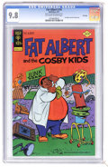 Bronze Age (1970-1979):Cartoon Character, Fat Albert #18 File Copy (Gold Key, 1977) CGC NM/MT 9.8 Off-whiteto white pages. Featuring Fat Albert and the Cosby Kids. O...