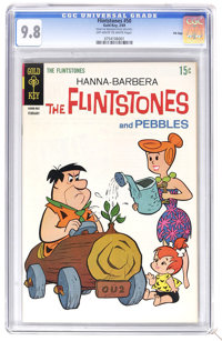 The Flintstones #50 File Copy (Gold Key, 1969) CGC NM/MT 9.8 Off-white to white pages. Currently tied for the highest CG...