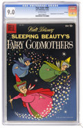 Silver Age (1956-1969):Cartoon Character, Four Color #984 Sleeping Beauty's Fairy Godmothers - File Copy (Dell, 1959) CGC VF/NM 9.0 Off-white pages. Overstreet 2006 V...