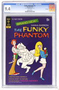Bronze Age (1970-1979):Cartoon Character, The Funky Phantom #1 File Copy (Gold Key, 1972) CGC NM 9.4 Whitepages. Currently tied for the highest CGC grade. Overstreet...