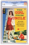 Silver Age (1956-1969):Miscellaneous, Girl From U.N.C.L.E. #3 File Copy (Gold Key, 1967) CGC VF/NM 9.0 White pages. Photo front and back covers featuring Stephani...