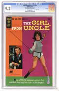 Silver Age (1956-1969):Miscellaneous, Girl From U.N.C.L.E. #4 File Copy (Gold Key, 1967) CGC NM- 9.2Off-white to white pages. Photo front and back covers featuri...