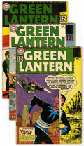 Silver Age (1956-1969):Superhero, Green Lantern #15-23 Group (DC, 1962-63) Condition: Average GD+. Included are #15, 16 (origin and first appearance of Star S... (Total: 9 Comic Books)