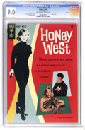 Silver Age (1956-1969):Adventure, Honey West #1 File Copy (Gold Key, 1966) CGC VF/NM 9.0 Off-white to white pages. Photo cover of Anne Francis as Honey West. ...