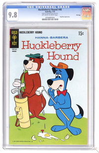 Huckleberry Hound #40 File Copy (Gold Key, 1970) CGC NM/MT 9.8 Off-white to white pages