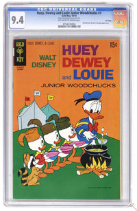 Huey, Dewey, and Louie Junior Woodchucks #7 File Copy (Gold Key/Whitman, 1970) CGC NM 9.4 Off-white to white pages. Dona...