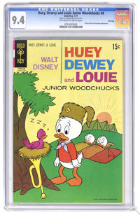 Huey, Dewey, and Louie Junior Woodchucks #8 File Copy (Gold Key/Whitman, 1971) CGC NM 9.4 Off-white to white pages. Plut...