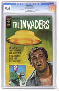 The Invaders #1 File Copy (Marvel, 1975) CGC NM 9.4 Off-white to white pages. Photo cover. Dan Spiegle art. Overstreet 2...