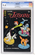 Silver Age (1956-1969):Cartoon Character, The Jetsons #30 File Copy (Gold Key, 1969) CGC NM 9.4 Off-white to white pages. Overstreet 2006 NM- 9.2 value = $80. CGC cen...