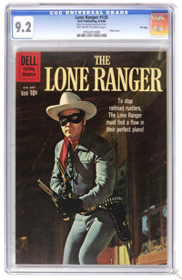 The Lone Ranger #135 File Copy (Dell, 1960) CGC NM- 9.2 Off-white to white pages. Photo cover. Overstreet 2006 NM- 9.2 v...