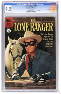 The Lone Ranger #138 File Copy (Dell, 1961) CGC NM- 9.2 Off-white pages. Photo cover. Overstreet 2006 NM- 9.2 value = $1...