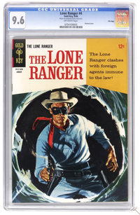 The Lone Ranger #4 File Copy (Gold Key, 1948) CGC NM+ 9.6 Off-white pages. Painted cover. Overstreet 2006 NM- 9.2 value...