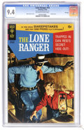 Silver Age (1956-1969):Western, Lone Ranger #16 File Copy (Gold Key, 1969) CGC NM 9.4 Off-white to white pages. Painted cover. Hank Hartman cover. Overstree...