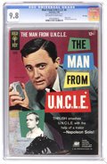 Silver Age (1956-1969):Adventure, Man from U.N.C.L.E. #4 File Copy (Gold Key, 1966) CGC NM/MT 9.8 Off-white to white pages. Photo cover. Photo pin-up back cov...
