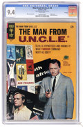 Silver Age (1956-1969):Miscellaneous, Man from U.N.C.L.E. #6 File Copy (Gold Key, 1966) CGC NM 9.4 Whitepages. Photo cover of Robert Vaughn and David McCallum. M...