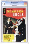 Silver Age (1956-1969):Adventure, Man from U.N.C.L.E. #22 File Copy (Gold Key, 1969) CGC NM 9.4 Off-white to white pages. Joe Certa art. Photo cover. Overstre...