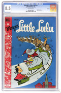 Golden Age (1938-1955):Humor, Marge's Little Lulu #7 File Copy (Dell, 1949) CGC VF+ 8.5 Off-whitepages. First appearance of Annie. Christmas cover. Tubby...