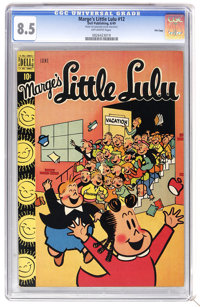 Marge's Little Lulu #12 File Copy (Dell, 1949) CGC VF+ 8.5 Off-white pages. Overstreet 2006 VF 8.0 value = $133; VF/NM 9...