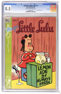 Marge's Little Lulu #14 FIle Copy (Dell, 1949) CGC VF+ 8.5 Cream to off-white pages. Tubby back-up story. Overstreet 200...