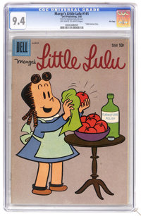 Marge's Little Lulu #141 File Copy (Dell, 1960) CGC NM 9.4 Off-white to white pages. Tubby back-up story. Overstreet 200...