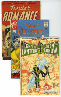 Miscellaneous Golden Age through Modern Age Box Lot (Various Publishers, 1948-1995). This full short box has something f...