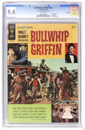 Silver Age (1956-1969):Adventure, Movie Comics - Bullwhip Griffin - File Copy (Gold Key, 1967) CGC NM 9.4 White pages. Photo cover. Back cover pin-up. Highest...