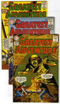Silver Age (1956-1969):Adventure, My Greatest Adventure Group (DC, 1961-63) Condition: Average VG+. This group contains issues #62, 64, 65, 68, 69, 71, 72, 73... (Total: 14)